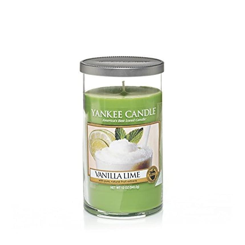 目的懐のホストYankee Candles Medium Pillar Candle - Vanilla Lime (Pack of 2) - ヤンキーキャンドルメディアピラーキャンドル - バニラライム (x2) [並行輸入品]