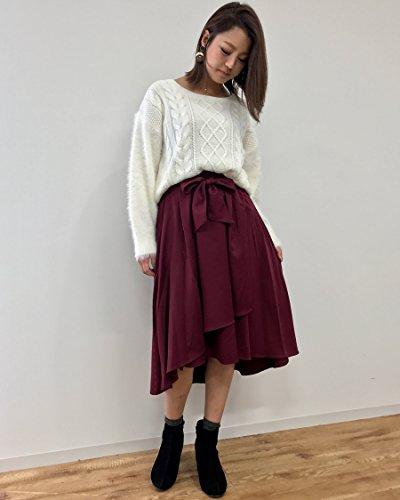 イング(INGNI) サッシュ付TRラップイレヘム スカート