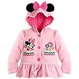 ディズニー ミニーマウス ミニー 長袖 フード パーカー 女の子 110cm 4歳 ガール 子供 キッズ Minnie Mouse Disney 2015