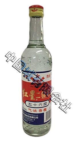 紅星二鍋頭 白瓶 (白酒)500ml
