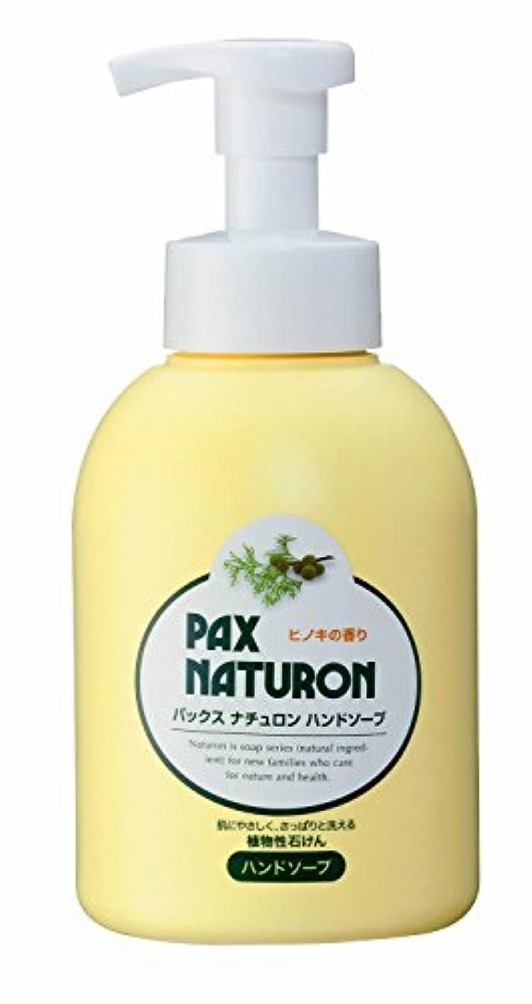 ドームレンジ筋肉の太陽油脂 ナチュロン ハンドソープ 500ml