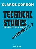 クラーク: バス・クリフの金管楽器のための技巧練習曲/カール・フィッシャー社/トロンボーン教本...