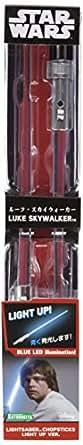 STAR WARS ライトセーバーチョップスティック ルーク・スカイウォーカー ライトアップVer. リニューアル版キャラクター箸