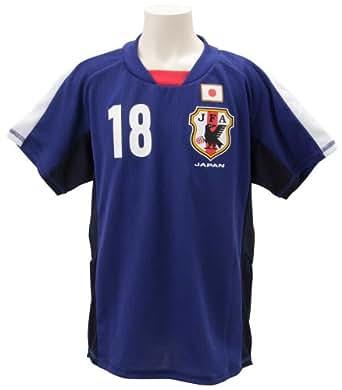 (Jリーグエンタープライズ)J.LEAGUE ENTERPRISE 日本代表 コンフィットTシャツ JR 本田圭佑 P61785  ブルー 110