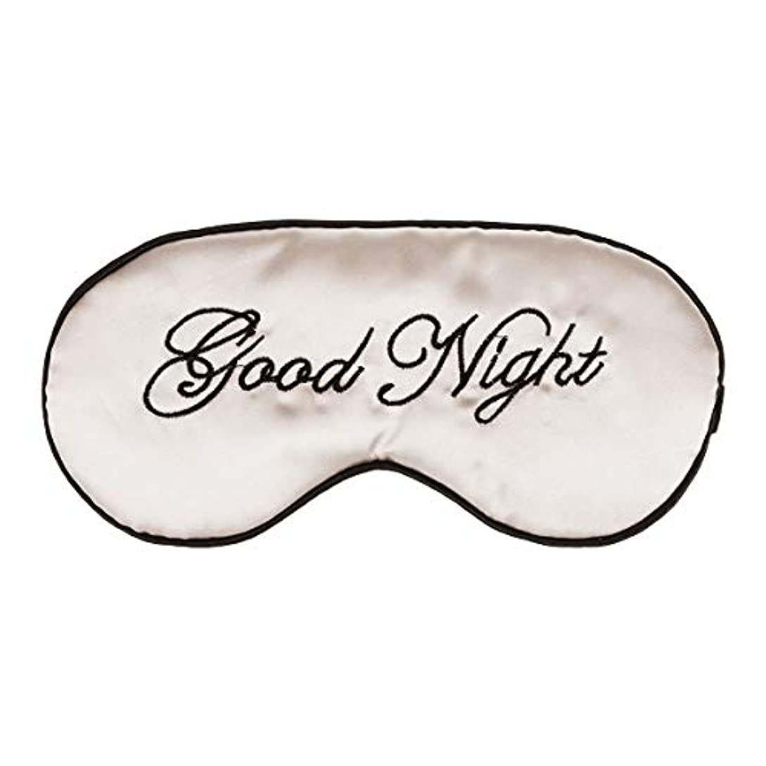 マークダウン保持マイナスSUPVOX シルクスリーピングマスク 刺繍スタイル 睡眠 アイマスク 軽量 アイマスク 遮光 圧迫感なし 疲れ目 睡眠 旅行 仮 眠 疲労回復に最適 無地(ベージュ)