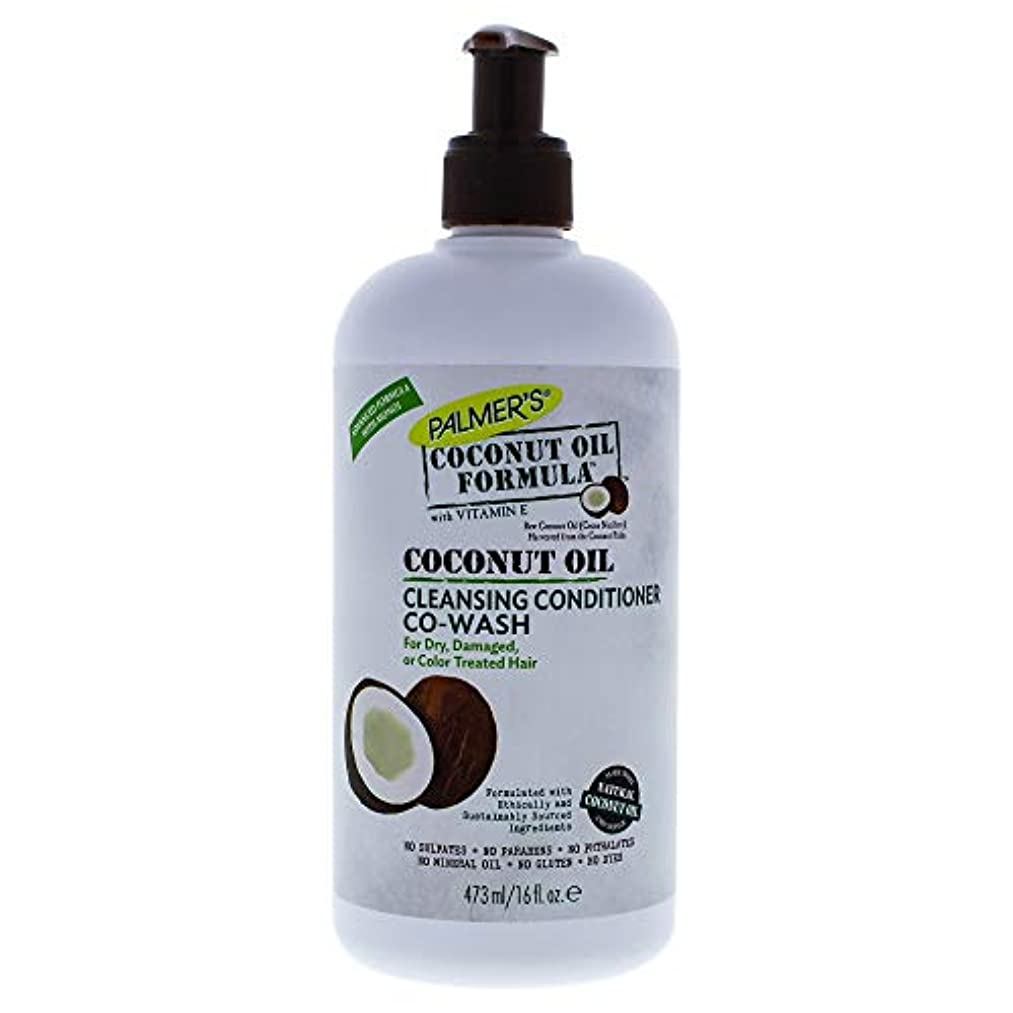 偽善者分解する広々としたPalmer's Coconut Formula Co-Wash Cleansing Conditioner, Shampoo Alternative 473ml