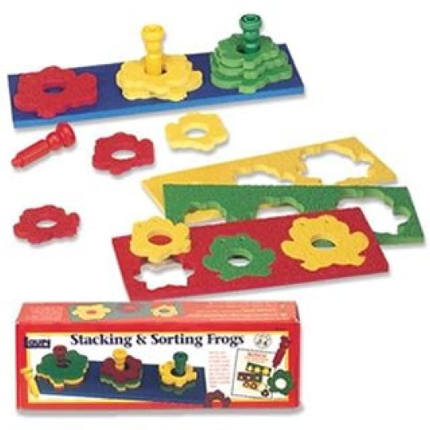Stacking & Sorting Frogs by Patch Products