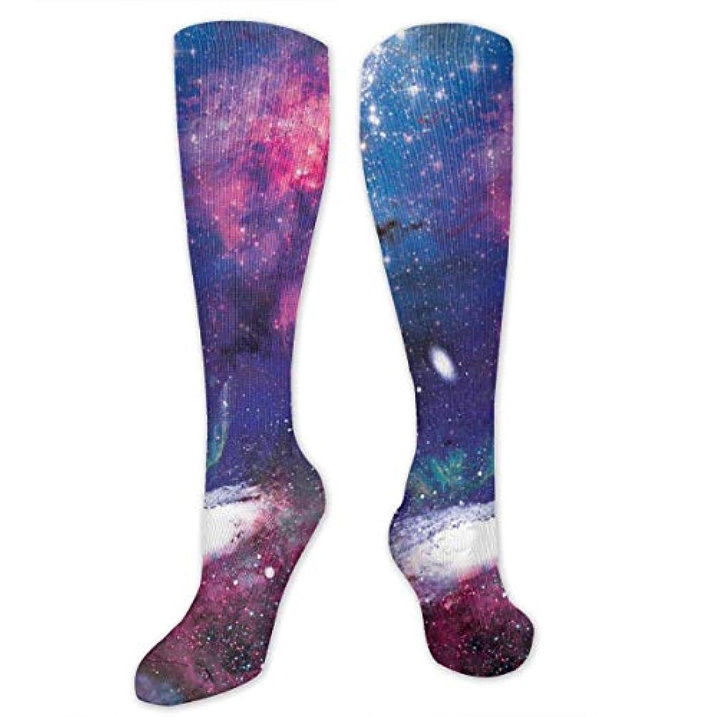 アラート寓話言う靴下,ストッキング,野生のジョーカー,実際,秋の本質,冬必須,サマーウェア&RBXAA Galaxy Galactic Dreams Socks Women's Winter Cotton Long Tube Socks...