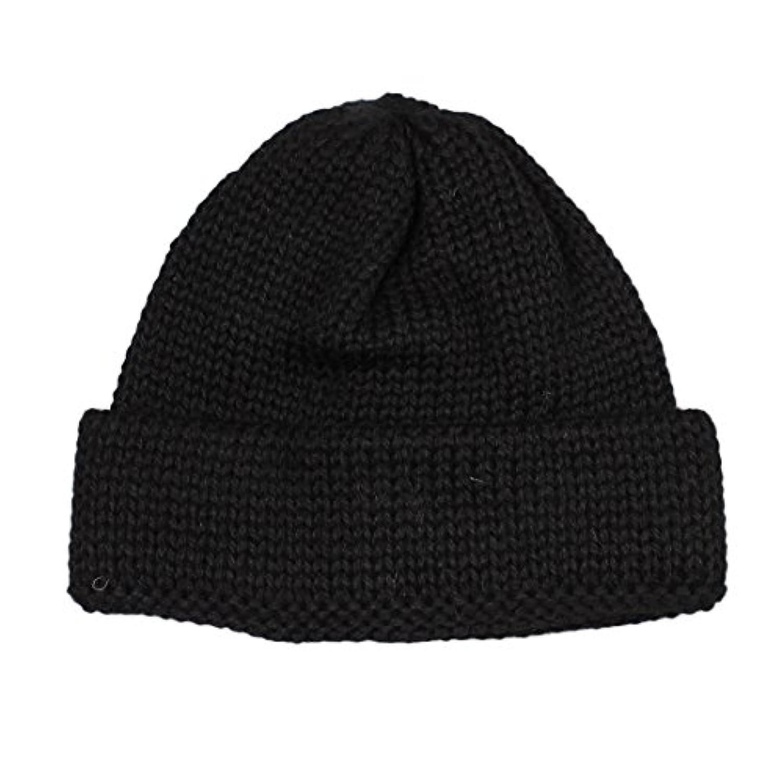 (ハイランド2000) HIGHLAND 2000 SB TUBULAR BOBBY CAP BRITISH WOOL - BLACK ONESIZE