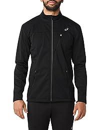 (Large, Performance Black) - ASICS Men's Softshell Jacket