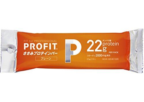 丸善 PROFIT SaSami (プロフィット) ささみプロテインバー プレーンタイプ 1箱(20袋入り)(40本入り)[ヘルスケア&ダイエット用商品]