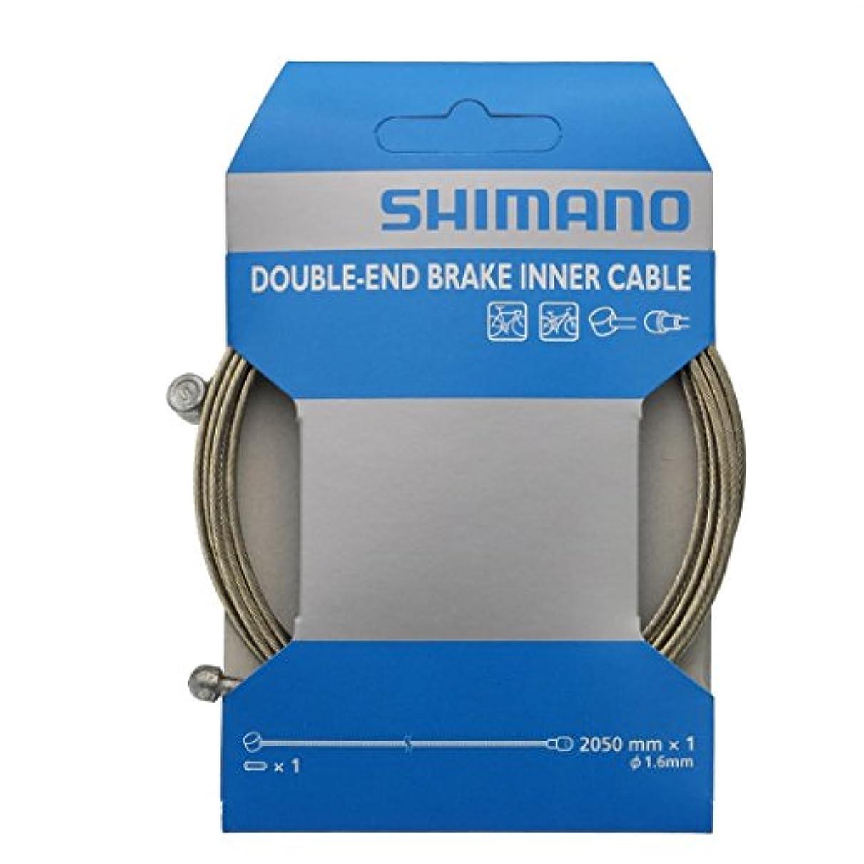 シーンゴム寸法SHIMANO(シマノ) Steel ブレーキインナーケーブル(φ1.6mm×2050mm/10パック) 両エンドタイプ Y80098410