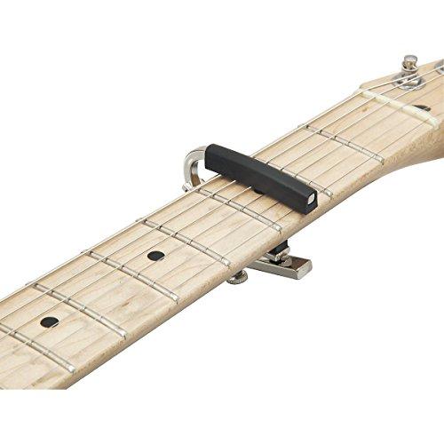 SHUBB シャブ カポタスト エレキギター用 軽量アルミ製 L-4 Nickel ニッケル 【国内正規品】