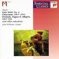 Bach;Lute Suite 4/Chaconne