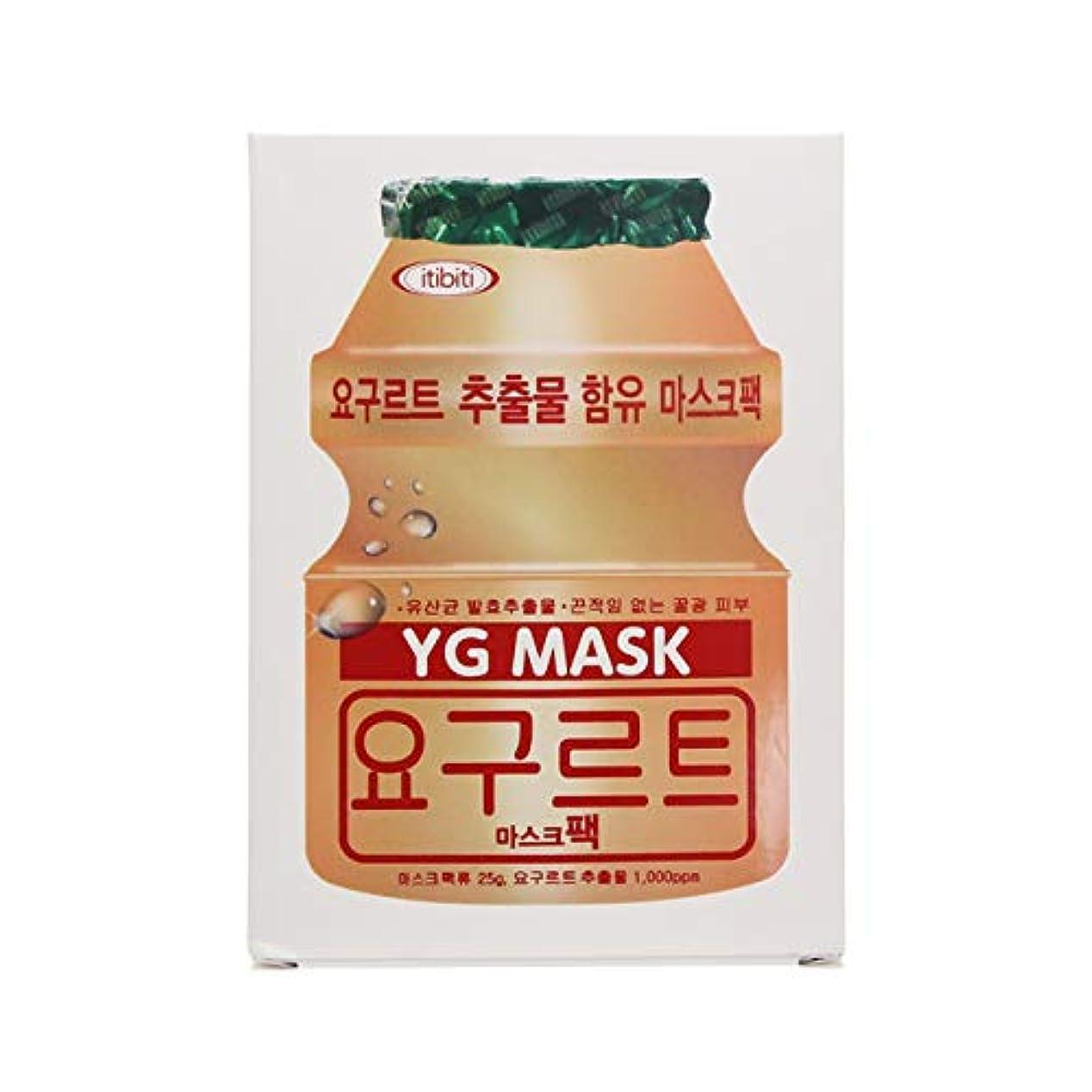 泳ぐログ生産的YGマスク 25g×10枚