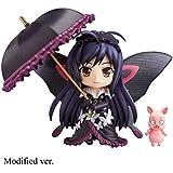 アクセル・ワールド:雪ブラックKuroyuki姫アクションフィギュアQバージョン玩具PVCモデル