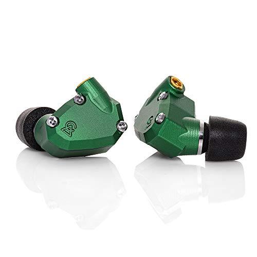 Campfire Audio グリーン イヤホン ANDROMEDA CAM-4808 バランスド・アーマチュア型(BA型) 3.5mm ミニ端子