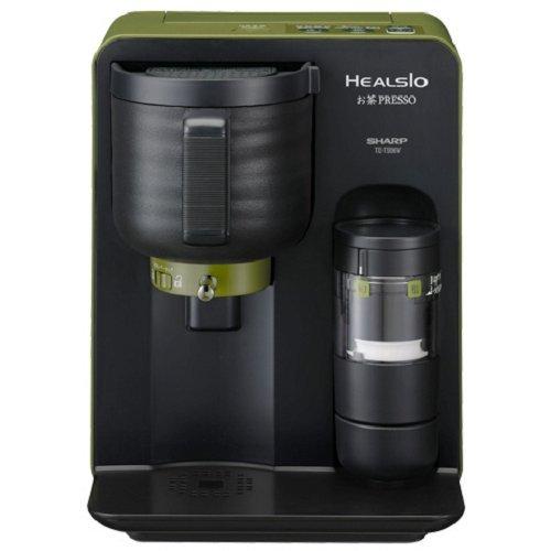 シャープ ヘルシオ(HEALSIO) お茶プレッソ 湯ざまし機能付き グリーン TE-TS56V-G