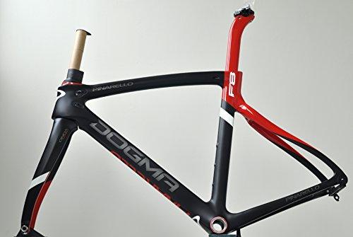 PINARELLO(ピナレロ) DOGMA(ドグマ) F8 Frame 2017年 - Black/Red 019 [Size: 515] [並行輸入品]