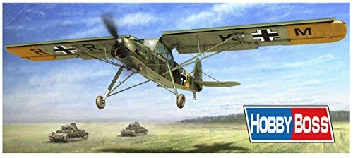 ホビーボス 1/35 エアクラフトシリーズ ドイツ空軍 フィーゼラーFi156A-0/C-1シュトルヒ プラモデル 80180の詳細を見る