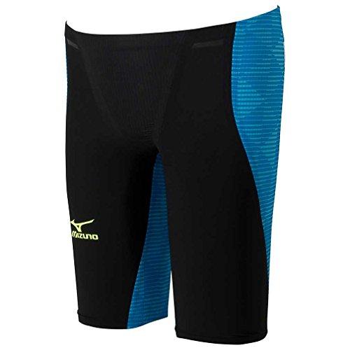 MIZUNO(ミズノ)レース用競泳水着メンズGX-SONICIIISTハーフスパッツFINA承認N2MB600192サイズ:Sブラック×ブルー
