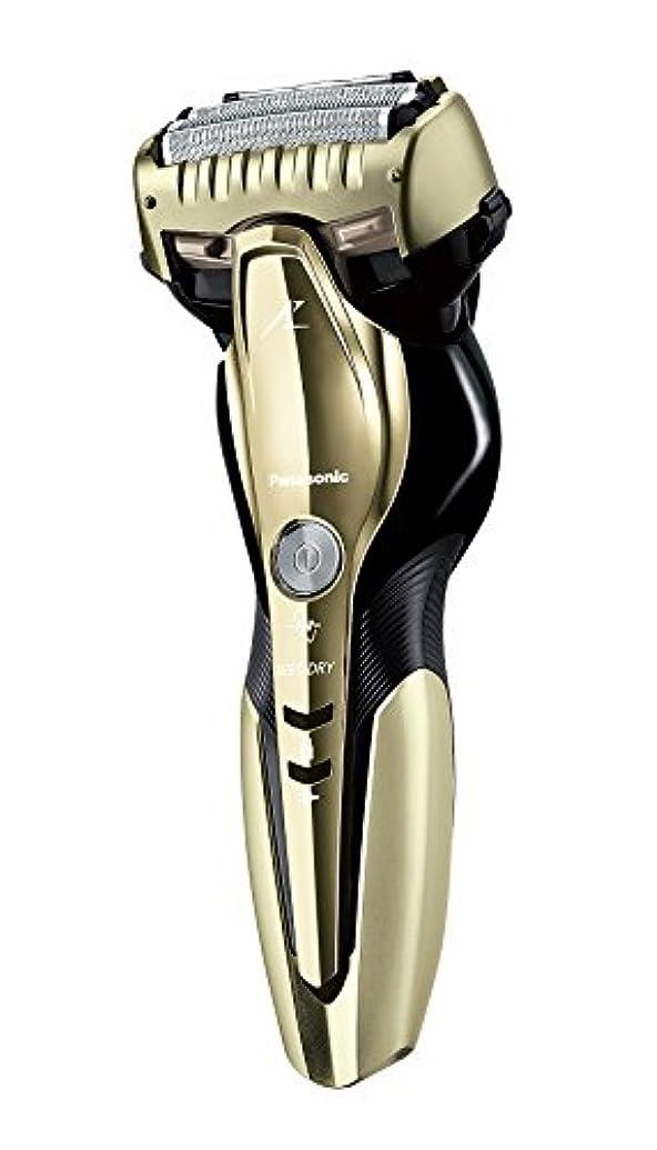 却下する位置するベンチャーパナソニック ラムダッシュ メンズシェーバー 3枚刃 お風呂剃り可 ゴールド調 ES-ST8Q-N