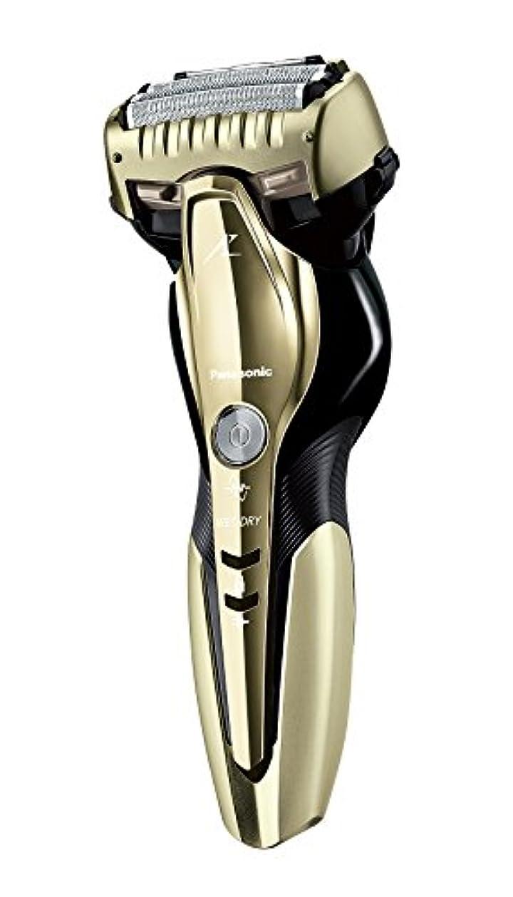 白いほとんどの場合親指パナソニック ラムダッシュ メンズシェーバー 3枚刃 お風呂剃り可 ゴールド調 ES-ST8Q-N