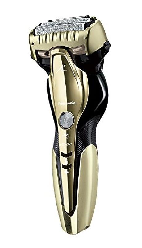 パナソニック ラムダッシュ メンズシェーバー 3枚刃 お風呂剃り可 ゴールド調 ES-CST8Q-N