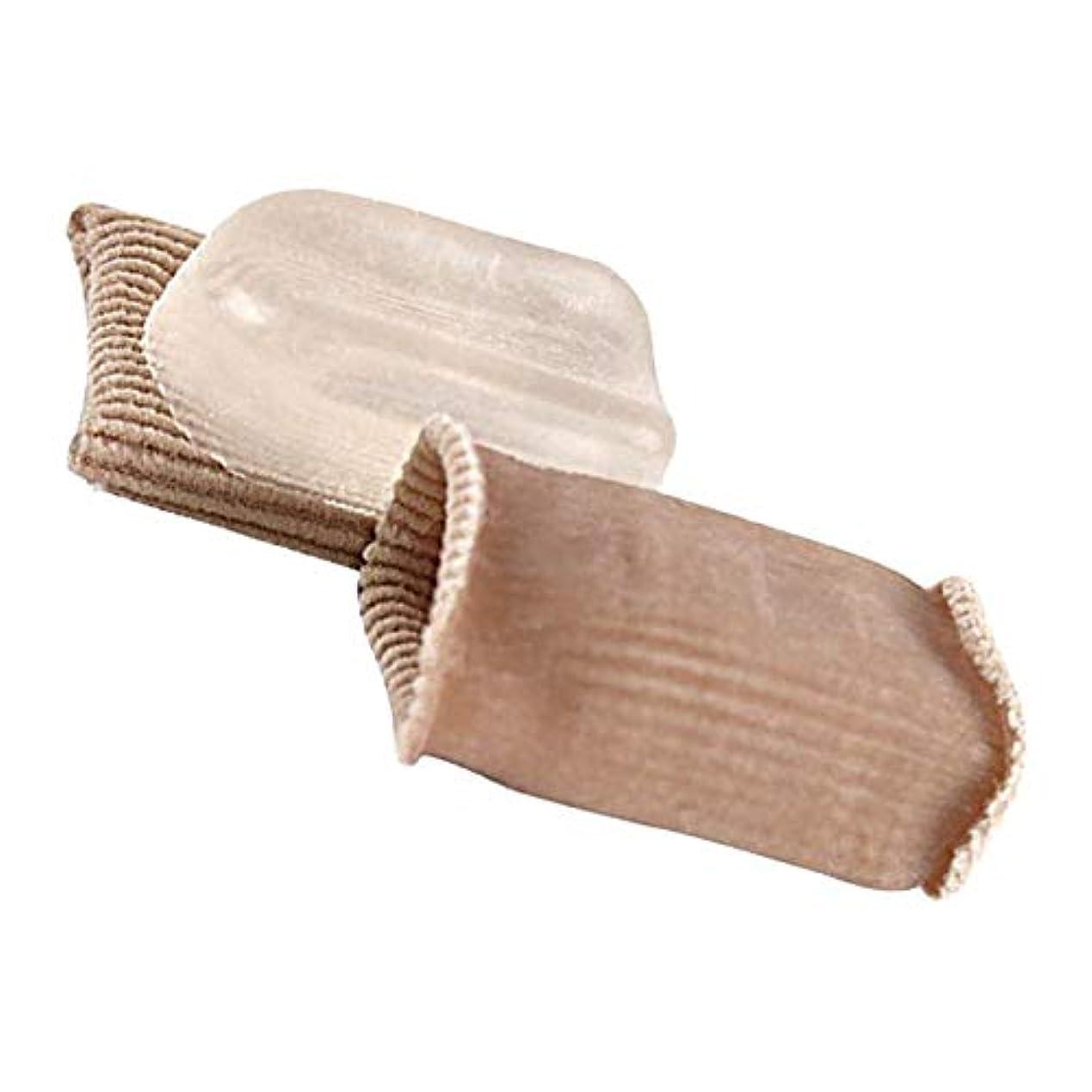 緊張限界織機つま先キャップ 足指保護キャップ つま先矯正 足指セパレーター フットケア 男女兼用 1ペア