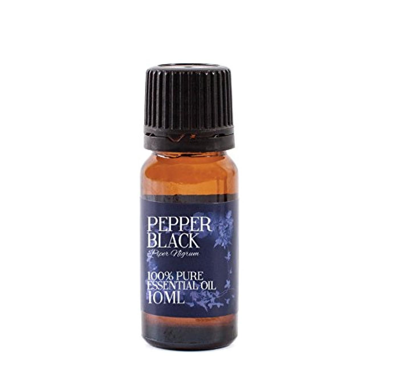 蘇生するバスベジタリアンMystic Moments | Pepper Black Essential Oil - 10ml - 100% Pure