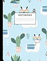 Notebook: Cute Lined Journal Ruled Composition Note Book to Draw and Write In for Girls and Boys - Home School Supplies for K-12 Grade Highschool and College : Cover Design 019