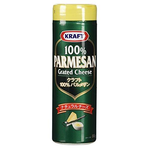 『[冷蔵] 森永乳業 クラフト パルメザンチーズ 80g』のトップ画像