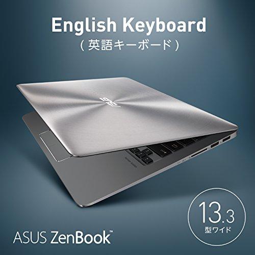 ASUS Zenbook 13.3 グレー BX310UA (Core i5/8G/SSD 256GB/FHD/English Keyboard)【日本正規代理店品】BX310UA-FC833T