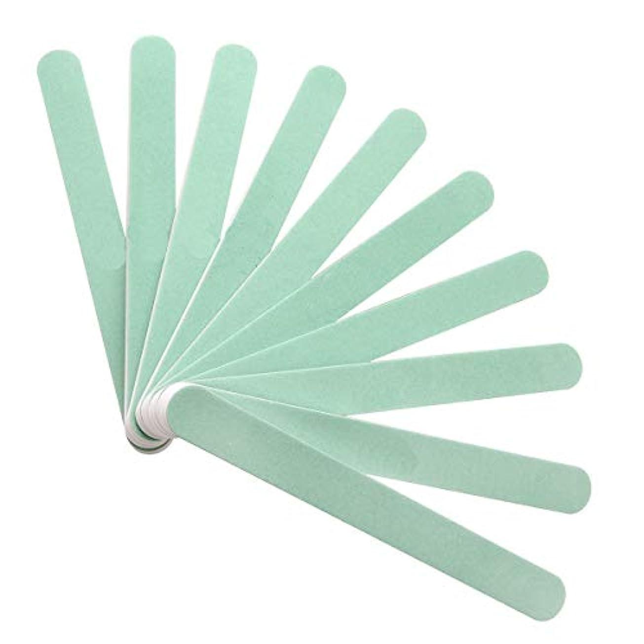 月飾り羽経度10本入バッファーグリットバッファー爪 磨き ネイルシャイナー ネイルをつやつやにスポンジファイルソフトファイル