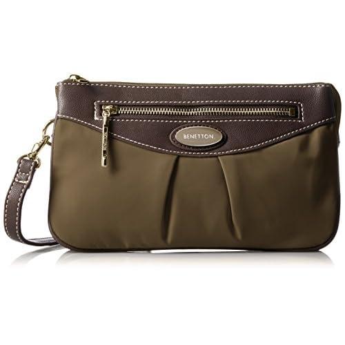 [ベネトン] BENETTON BENETTON ベネトン Shoulder Bag ショルダーバッグ 4BE2503J8 Brown (ブラウン)