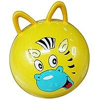 45CM跳ねるボールのおもちゃインフレータブル漫画動物のジャンプバウンスストレスヨガヘルスケアのおもちゃPVC猫の耳の形バランスボール