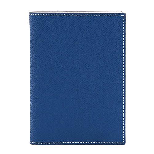 (エルメス)HERMES 手帳カバー アドレスレフィルつき アジェンダGM バイカラーデザイン エプソン O刻印 H038536/AGENDA GM/EPSOM/BLUE DE GALICE*WHITE [並行輸入品]