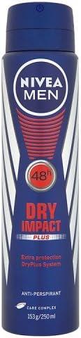 NIVEA MEN Everyday Active Aerosol Antiperspirant Deodorant Spray, 250 ml