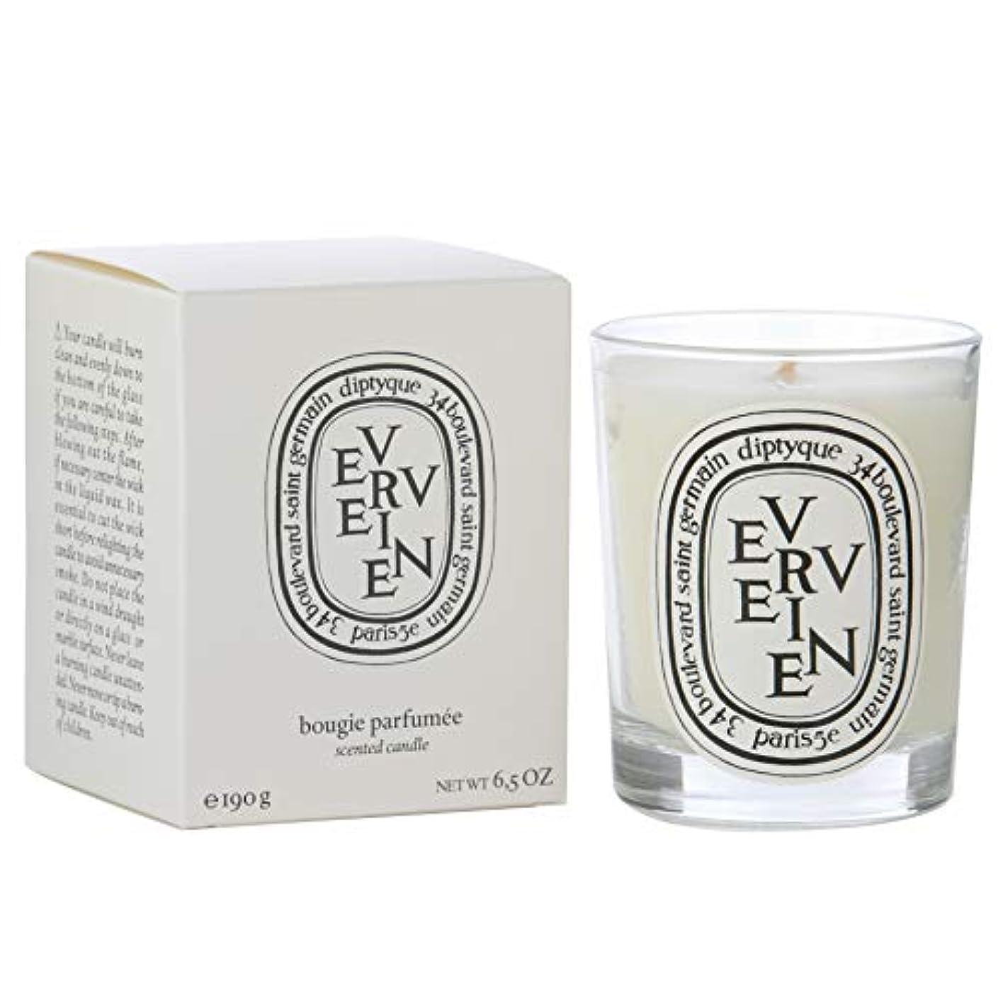 コンベンション側の面では[Diptyque] Diptyque Verveine香りのキャンドル190グラム - Diptyque Verveine Scented Candle 190g [並行輸入品]