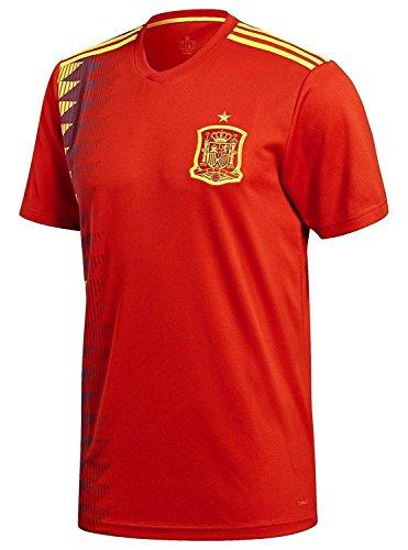 サッカー ワールドカップ 2018 スペイン代表 ホーム レプリカ ユニフォーム 半袖 メンズ M xb