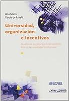Universidad, Organizacion E Incentivos