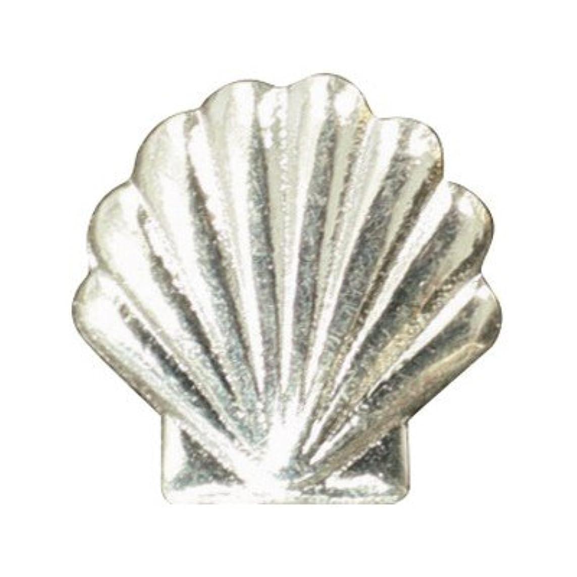 フェザー女性膨らみピアドラ メタルシェル(大)30P シルバー