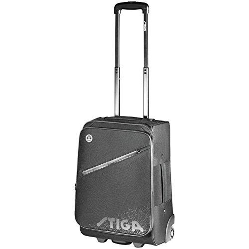 960964ff3bd9  해외 STIGA (스티가) 탁구 가방 헥사곤 트롤리 가방 블랙 STIGA