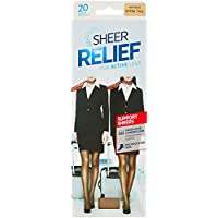 Sheer Relief Women's Support Pantyhose