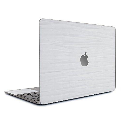 wraplus for 旧型 MacBook Pro 13 インチ 【ホワイトアブストラクト】 スキンシール (Mid2009 ~ Mid2012)