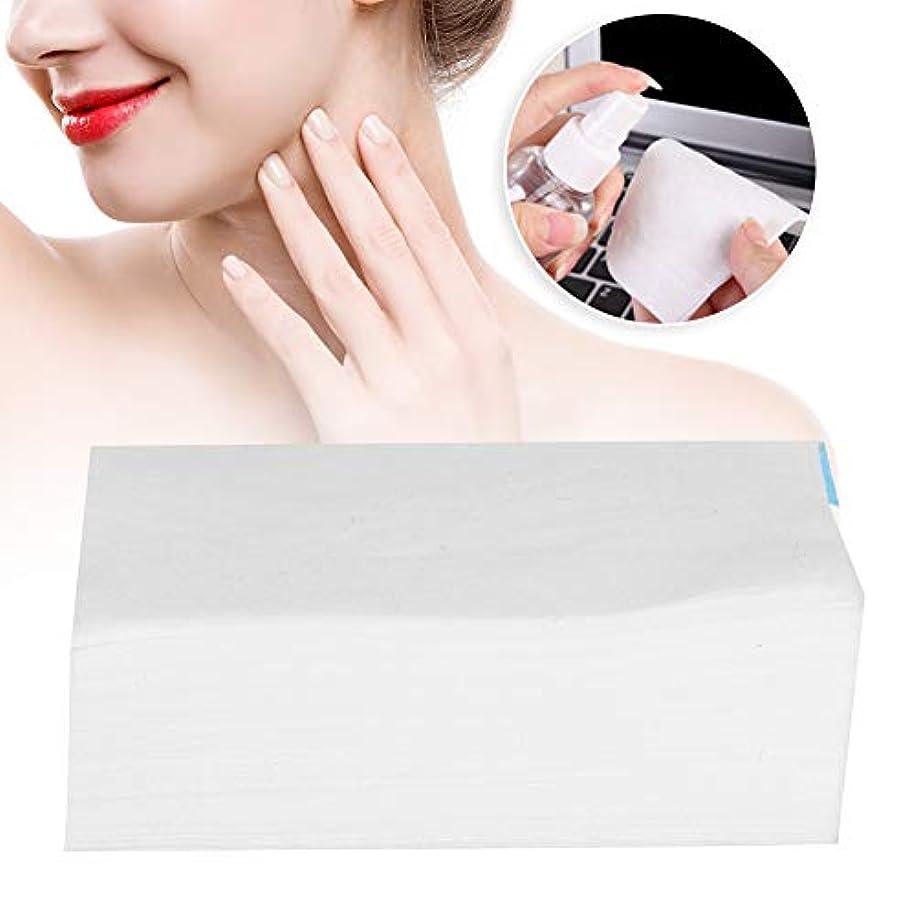 リスナー一般化するファンネルウェブスパイダー500枚 使い捨て 化粧綿パッド 化粧品 リムーバークリーニングワイプ