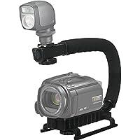 Proビデオ安定ハンドルScorpionグリップfor : Canon Powershot sx100is垂直シューマウントスタビライザーハンドル