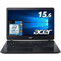 Acer ノートパソコンAspire 5 A515-53-N78U/K/Corei7/8GB/256GB SSD/15.6型FHD/ドライブ無し/ Windows 10