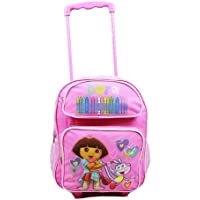 Dora the ExplorerクレヨンRollingバックパック( Kid Size )