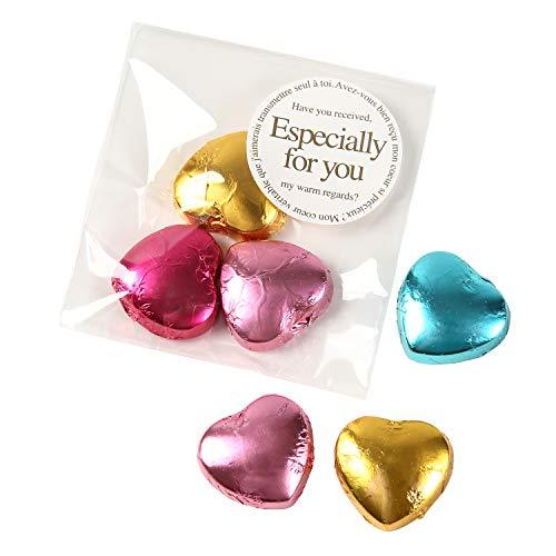 Sweet Factory Yammy(スイートファクトリー ヤミー) プチギフト ミニチョコ (ハート形 チョコレート 3個入り) 配れる プチお菓子 2 (30個)